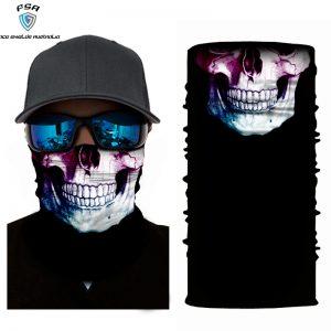 Tri Colour Skull