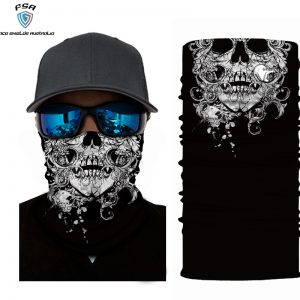 Black & White Skull
