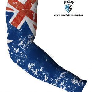 Arm Sleeve's / Aussie Flag, Faded
