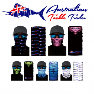 Mixed 10 Pack of Australian Tackle Trader Face Shields