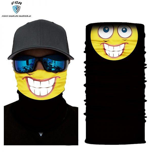 Emoji face shield