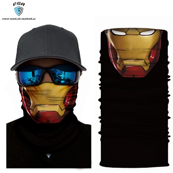 Iron man face shield