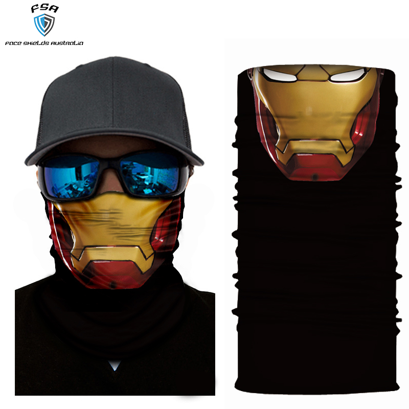 Iron man face shield
