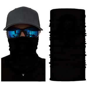 Plain Black Face Shield