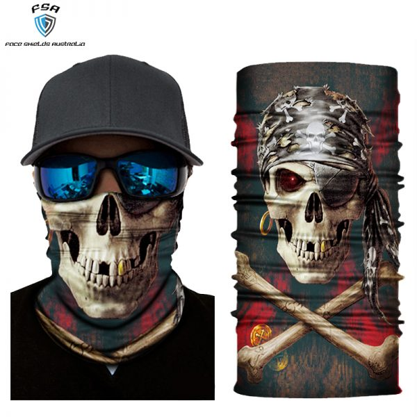 Kids Face Shield The Pirate