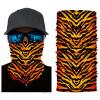 Tiger print face shield