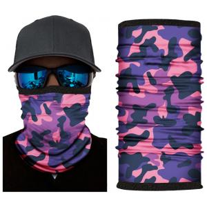 Kold Killa™ |  Purple Camo | Fleece Lined Face Shield