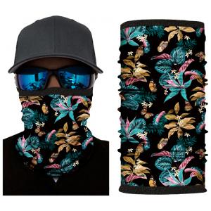Kold Killa™ | Paradise Flowers | Fleece Lined Face Shield