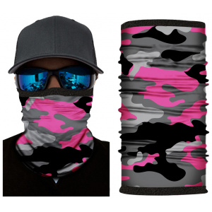 Kold Killa™ | Pink Camo | Fleece Lined Face Shield