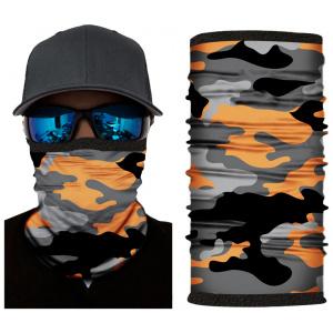 Kold Killa™ | Orange Camo | Fleece Lined Face Shield